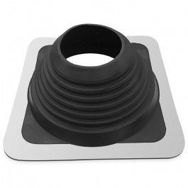 Flexibele EPDM dakdoorvoer met rubber manchet, instelbaar Ø 70/150
