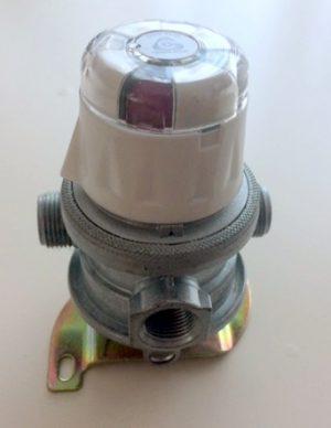 Automatische omschakelaar gasfles